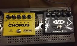 ☆ 唐尼樂器︵☆全新 MXR M134 Stereo Chrous/ MXR EVH 5150 Overdrive