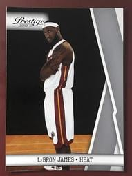 2010-11 Prestige #20 LeBron James 熱火隊