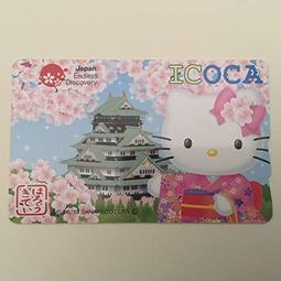 全新 ICOCA  Hello Kitty凱蒂貓 suica JR 姬路城 2000 日圓