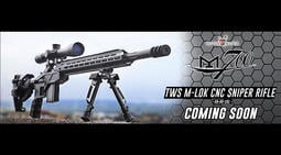 【KUI生存遊戲】King Arms TWS M-LOK CNC Model M700 瓦斯狙擊槍