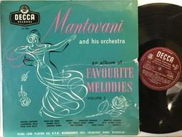 OP04/古典/Mantovani and his orchestra - album of Favourite Mel