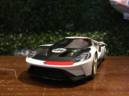 1/ 18 TopSpeed Ford GT 2021 Heritage Edition TS0317【MGM】
