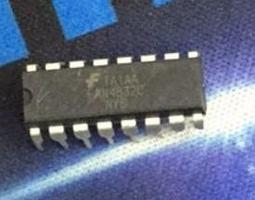 [二手拆機][含稅]拆機二手原裝 FAN4832 FAN4832C 直插 液晶晶片