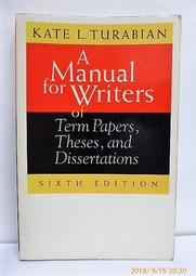 A Manual for Writers of Term Papers, Theses,  L2