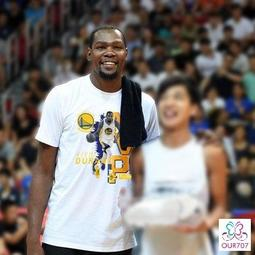 【OUR 707】NBA 勇士隊 Kevin Durant MVP 共3色 短T恤 UA NIKE 情侶 球衣