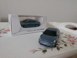 THE ALL-NEW FORD FOCUS 藍 1:43模型車