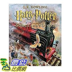 [106美國直購] 2017美國暢銷書 Harry Potter and the Sorcerer''s Stone