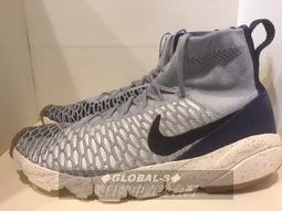 G-S NIKE AIR FOOTSCAPE MAGISTA FLYKNIT NY 灰藍編織高筒 816560-001