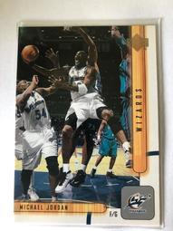 "2002 UPPER DECK NBA  ""Michael Jordan""  空中飛人 喬丹  球員卡"