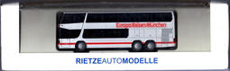 HO 1/87 Rietze 60277Setra S 328 DT Europe Travel Munich