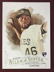 2016 Topps Allen and Ginter #44 Miguel Castro RC