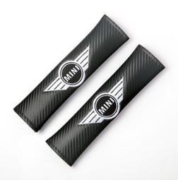 BMW寶馬MINI迷你安全帶護肩套MINI Shoulder pad 碳纖維 護套