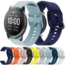 錶帶 適用小米Haylou Solar快拆軟硅膠手錶帶Haylou Solar運動腕帶22mm