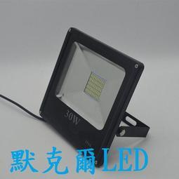 LED戶外投射燈30W 白光黃光 LED招牌燈LED廣告燈LED探照燈【3000流明】【防水等級IP66】(保固1年)