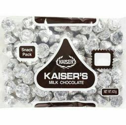 台灣 Kaiser 甘百世 凱莎巧克力 milk chocolate/ 1包/ 425g