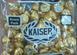 台灣 Kaiser 甘百世 凱莎巧克力 milk chocolate 金色/ 1包/ 425g