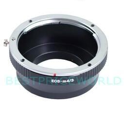 Canon EOS EF鏡頭轉Micro M4/ 3相機身轉接環Olympus E-M1X E-PL7 E-PL6 EP5