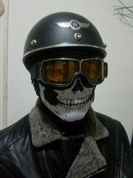 機車頭套面罩口罩復古面罩哈雷圍巾骷髏圍脖