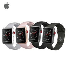 《贈新春大禮包》 Apple Watch S3 LTE版 42mm 鋁金屬錶殼搭配運動型錶帶 [含稅][原廠盒裝]