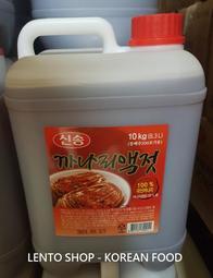 LENTO SHOP - 韓國 新松 玉筋魚 魚露 10KG  量販桶裝