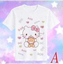《筑樂寶貝窩》日系可愛卡通Hello kitty少女印花短袖T恤(預購商品,約10~20天左右到貨,急單勿下!!)