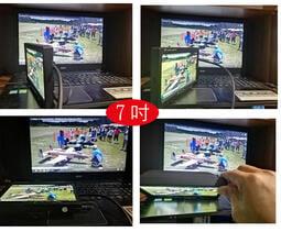 DIY全視角 7吋IPS顯示器航模航拍7寸螢幕HDMI+VGA+AV監控後视車用電腦1024*600像素