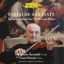 【SACD】薩拉沙泰:給小提琴及鋼琴演奏的西班牙舞曲作品選/ 阿卡多 Salvatore Accardo-SACD218