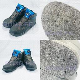 RongFei 運動型防滑釘鞋 運動型防滑毛氈釘鞋 外銷日本同一廠家製造 另售:釣魚鞋 溯溪鞋 磯釣釘鞋