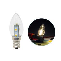 京港電子【340106010012】E12頭 0.7W*7 LED SMD 暖白光 AC110V