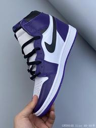 新品上市 Air Jordan 1 AJ1 Court Purple 喬1 OG 白紫黑紫腳趾 籃球鞋 運動鞋 男鞋