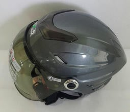 GP5-020 法國灰 半罩式泡泡鏡雪帽