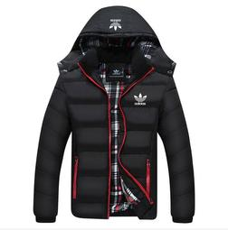 L-6XL 愛迪達 adidas 三葉草棉衣 愛迪達棉衣 外套 純棉外套 保暖外套 運動外套 加厚連帽外套8861