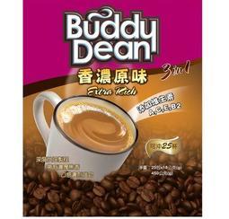Buddy Dean巴迪三合一咖啡-香濃原味(18gX25入)*2包
