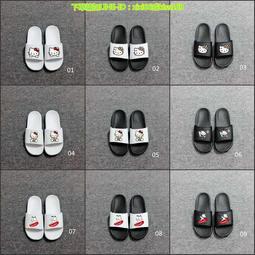 三雙免運NIKE 拖鞋 三葉草涼拖鞋古馳拖鞋 萬斯拖鞋 男女同款涼鞋 情侶鞋 耐磨平底拖鞋 沙灘鞋 多款式可選居家拖鞋