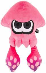 Splatoon 2 Splatoon 2 Big Squid Neon Pink Plush Doll Height 43 cm SP 20