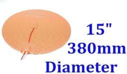 "15"" 380mm Diameter 350W w/ 3M w Thermister 3D Printer HeatBed CE UL JSRGO Heater"
