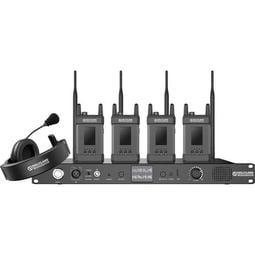 〔乙巧〕HOLLYLAND SYSCOM 1000T-4b 一對四 無線導播通話系統 4子機組 1000英尺/300米