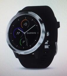 GARMIN vivolife 悠遊智慧腕錶 感應支付 悠遊卡 續航7天 運動模式 防水  石墨灰色