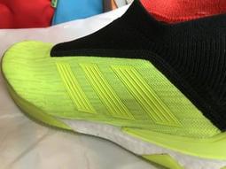 【零碼出清45折】US 10.5 超頂級 adidas Predator Tango 18+ TR(黃) 足球鞋 休閒鞋