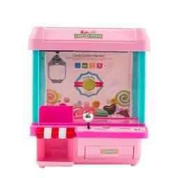 迷你夾娃娃機扭蛋兒童玩具游戲投幣機
