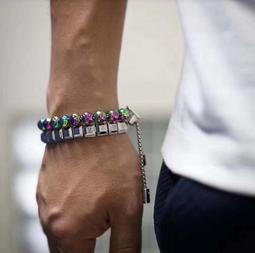 【TSG】Louis Vuitton 炫彩淬火鐳射串珠手鍊