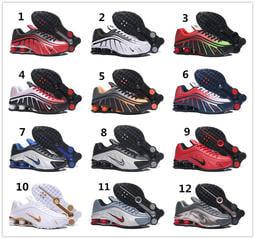 NIKE SHOX R4 耐吉 氣柱 彈簧鞋 跑步運動鞋 休閑鞋 籃球彈力鞋 男女跑步鞋慢跑鞋板鞋休閒鞋