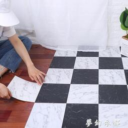 浴室防滑地貼自黏牆貼裝飾衛生間瓷磚貼紙防水耐磨地板貼地磚貼紙