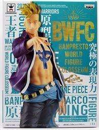 正版 海賊王 公仔 航海王景品 BWFC SP 世界大賽 馬可 馬爾科 造形王 頂上決戰 pop不死鳥 ZERO WCF