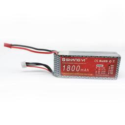 【新品上市】穿越機航模FPV專用電池 2S/ 3S 7.4V/ 11.1V 1800mAh 25C JST頭供電