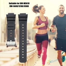 卡西歐 G-Shock Gwm5610 Dw5600 Dw5700 Dw6900 的矽橡皮筋