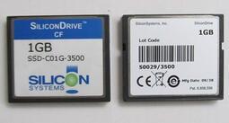原裝WD CF1G 工業CF卡1GB PATA SSD-C01G-3500 SILICON DRIVE