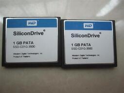 原裝WD CF 1G SSD-C01G-3500 SILICON CF卡1GB 工業級CF卡