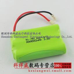 現貨促銷伯朗3.6V 7號鎳氫電池充電電池組合800MAH NI-MH AAA子母機
