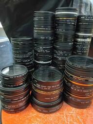 【福星】UV鏡保護鏡52 58 67 72 77 82mm多膜濾鏡肯高耐司卡色保谷B+W二手  相機濾鏡【福星】